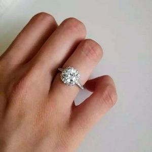 Jewelry - Square Halo Ring